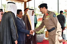 During President Yameen's official visit to Saudi Arabia. PHOTO/PRESIDENT'S OFFICE