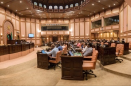 Lawmakers pictured during a parliament session. PHOTO/MAJLIS