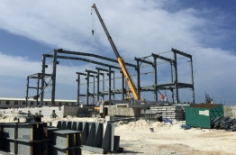 Development of a 50 megawatt power plant in Hulhumale by Dongfang Electric Corporation of China.