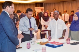 President Abdulla Yameen launches national campaign to end tuberculosis in the Maldives. PHOTO: NISHAN ALI/MIHAARU
