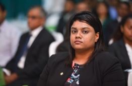 Prosecutor General Aishath Bisham. MIHAARU PHOTO / HUSSEN WAHEED