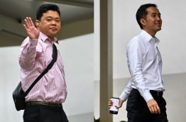 Two Singaporean men pleaded guilty on April 3, 2018 to letting out apartments on Airbnb without official permission, the first such case in the city-state under new rules against short-term rentals. / AFP PHOTO / Roslan RAHMAN