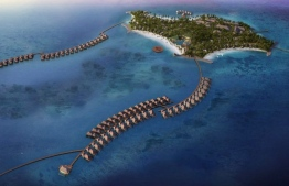 The brand's very first franchise in the Maldives, Hard Rock Hotel is slated to open October 1st. PHOTO: HARD ROCK HOTEL