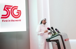 From the ceremony held to launch worlds first commercial 5G network in Qatar by Ooredoo. PHOTO/OOREDOO