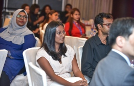 Hotel Jen, May 15, 2018: Journalists of The Edition pictured at the launching ceremony. PHOTO: NISHAN ALI