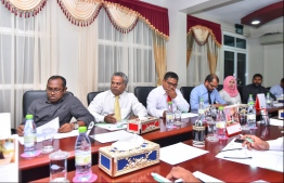 Elections commission (EC) meets political parties regarding the upcoming presidential elections 2018
