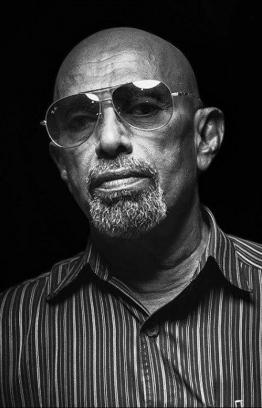 Feature portrait of Ibrahim Rasheed. PHOTO: MILLZERO NISHAN (Provided to The Edition by Artist Representation)