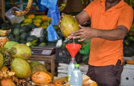 Traveller's Market, May 16, 2018: Scenes from the local market in Male on the first day of the Islamic holy month of Ramadan. PHOTO: NISHAN ALI/MIHAARU