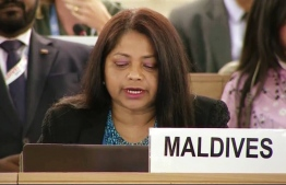 Dr Hala Hameed, the Permanent Representative of the Maldives to the UN. PHOTO/FOREIGN MINISTRY