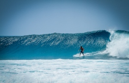 Cokes is home to some of the most consistent waves in the Maldives. PHOTO: MICKEY NATTS