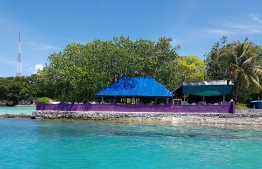 View of the Xie Xie Restaurant on the waterfront of Villimale. PHOTO/XIE XIE