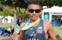 National Marathon and Half-Marathon record holder, Shifaz Mohamed. PHOTO: FACECBOOK/SHIFAZ MOHAMED