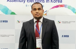 Ali Nashaath, the director of the Elections Commission-