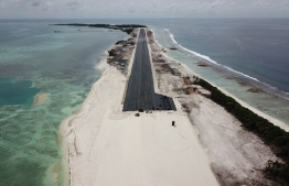 United Arab Emirates funded Maafaru Airport in Noonu Atoll. PHOTO: REGIONAL AIRPORTS