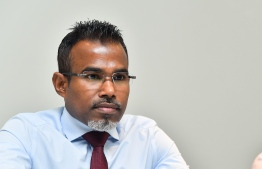 Attorney General Ibrahim Riffath. PHOTO: HUSSAIN WAHEED/ MIHAARU