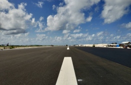 The mid section of VIA's new runway. PHOTO/MACL