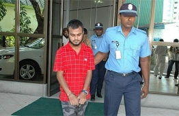 Mohamed Murushid, who was arrested over an attempted attack on former President Maumoon Abdul Gayoom.