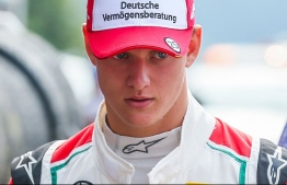 Mick Schumacher, the son of seven-time F1 champion Michael. PHOTO: AAP