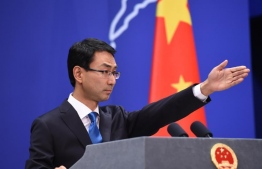 Chinese Foreign Ministry's spokesperson Geng Shuang. FILE PHOTO