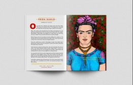 Frida Kahlo is one of 100 women featured in the second volume of Good Night Stories. PHOTO: PATRICIA WHITAKER / MASHABLE