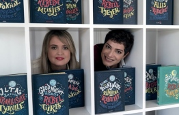 'So needed, so timely' … Good Night Stories for Rebel Girls authors Elena Favilli (left) and Francesca Cavallo.PHOTO: ANDRZEJ LIGUZ/ MOREIMAGES/ THE GUARDIAN