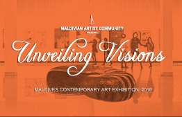 Unveiling Visions 2018, an art exhibition hosted by Maldivian Artist Community at the National Art Gallery. IMAGE: LUJINE RASHEED / THE EDITION