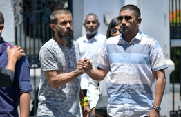 Member of opposition coalition and Galolhu-South MP Ahmed Mahloof