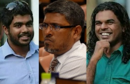 The murder of MP Dr. Afrasheem, satirist blogger Yamin Rasheed along with the disappearance of Journalist Ahmed Rilwan are connected: Commission on Investigation of Murders and Enforced Disappearances. PHOTO: VARIOUS/MIHAARU FILE PHOTO