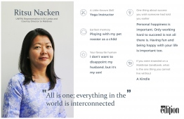 UNFPA Representative in Sri Lanka and Country Director to Maldives, Ritsu Nacken, speaks to The Edition about her longstanding career in the UN. IMAGE: AHMED SAFFAH / THE EDITION