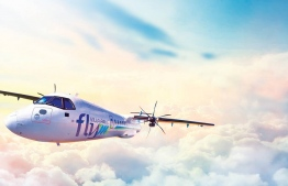 A digital rendering of a FlyMe aircraft,  operated by Villa Air. PHOTO: FLYME