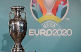 UEFA EURO 2020 Trophy. PHOTO: ABENDZEITUNG
