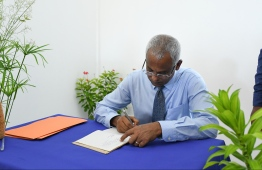 President's official visit to K. Dhiffushi