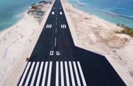 Maafaru International Airport situated in Noonu Atoll. PHOTO: REGIONAL AIRPORTS