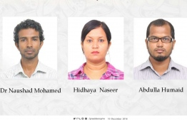 Newly appointed Deputy Ministers/ PHOTO: MIHAARU