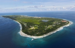 Aerial view of Fuvahmulah. PHOTO/THE EDITION