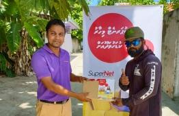 Ooredoo launches SuperNet Broadband Services in Dhaalu Kudahuvadhoo. PHOTO: OOREDOO