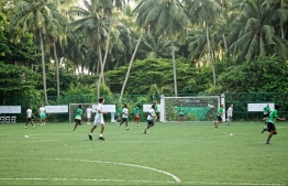 Senior camp participants square off against each other. PHOTO: HAWWA AMANY ABDULLA/THE EDITION