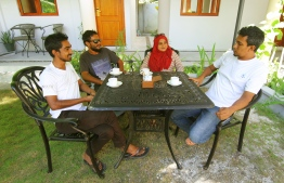 Executive committee members of One Fuvahmulah sits with The Edition for an exclusive interview on their efforts and challenges. PHOTO: HAWWA AMAANY ABDULLA / THE EDITION