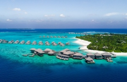 Six Senses Laamu, the only resort in Laamu Atoll. PHOTO/SIX SENSES LAAMU