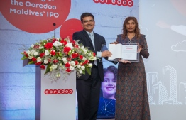 Ooredoo Maldives opens Initial Public Offering (IPO). PHOTO: OOREDOO MALDIVES