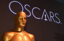 """(FILES) In this file photo taken on February 4, 2019, an Oscar statue at the 91st Oscars Nominees Luncheon  in Beverly Hills. - The upcoming Academy Awards, the biggest night in Hollywood, will take place this year without a host for the first time in three decades, organizers said on February 5, 2019. """"We can confirm that there will be no host,"""" a spokesperson from the Academy of Motion Pictures Arts and Sciences told AFP without elaborating. (Photo by Robyn BECK / AFP)"""