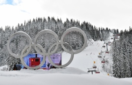 A picture taken on January 30, 2019 shows the slopes of Mt. Jahorina, a former olympic alpine skiing venue, in East Sarajevo. - When Sarajevo welcomed the globe's top athletes to its mountains for the 1984 Winter Olympics, it was a moment of pride for all of Yugoslavia. Three decades later, the post-war capital of Bosnia  hopes to rekindle the flame as it hosts the European Youth Olympics from February 9, 2019 to February 16. (Photo by ELVIS BARUKCIC / AFP)