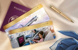 Boarding passes for Qatar Airways. PHOTO: QATAR AIRWAYS