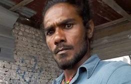 Hussain Simadh who was murdered in Vilingili of Ghaaf Alifu Atoll