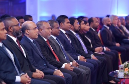 Judges attending a conference. Judicial Council determined the formation of a special organisation for judges. PHOTO: HUSSAIN WAHEED/MIHAARU
