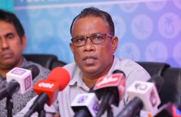 Joint press conference held by PPM and PNC. PHOTO: NISHAATH ALI / MIHAARU