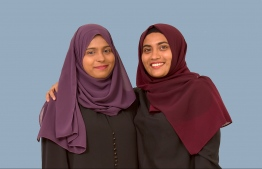 The Managing Director and Founder of Women's Centre by Yulia, Hawwa Leesha (left) and Yulia Shamoon (right) respectively, consider themselves housemates, friends, colleagues and business partners. PHOTO: HAWWA AMAANY ABDULLA / THE EDITION