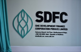 SME Development Finance Corporation (SDFC) in the capital city of Male'. PHOTO: HUSSAIN WAHEED/MIHAARU