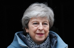Britain's Prime Minister Theresa May leaves 10 Downing street for the weekly Prime Minister Question (PMQ) session in the House of Commons in London on March 27, 2019. (Photo by Adrian DENNIS / AFP)