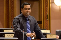 Hoarafushi MP Mohamed Ismail. PHOTO: PARLIAMENT